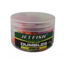 Fluoro pop-up dumbles 11mm : banán Jet Fish