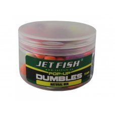 Fluoro pop-up dumbles 11mm : ananas Jet Fish