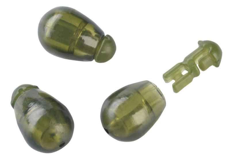 Konektor Method Feeder Quick beads 10ks -zelený S