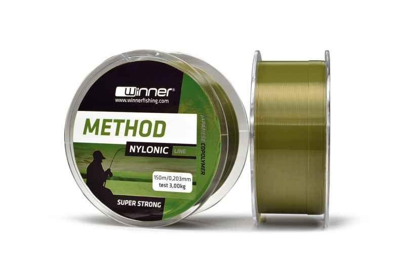 Silon Nylonic Method line 300m - zelený 0,261mm