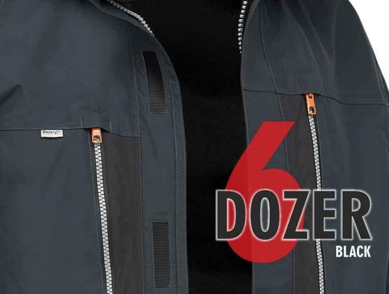 Bunda Geoff Anderson Dozer 6 černá vel.XXXXL