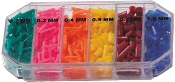 Bužírky na splávky BOX od 0,2mm