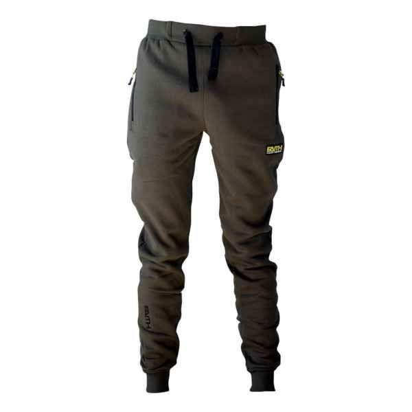 Kalhoty FAITH s kapsami na zip - olivová barva XL