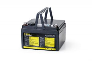 Lithiová baterie M-CELL M-CELL 12V 23Ah + 5A nabíječka