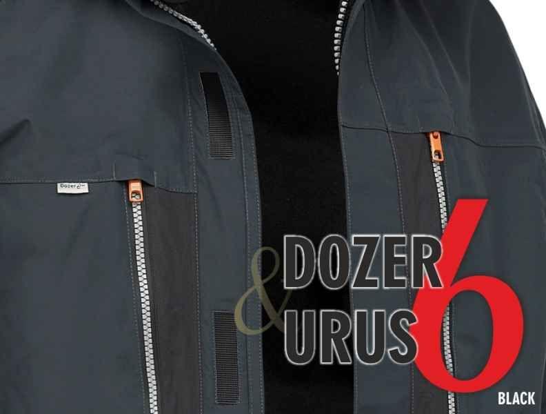 AKCE Geoff Anderson - DOZER 6 + Urus 6 černá vel.XXL