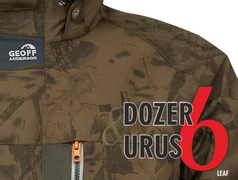 AKCE Geoff Anderson - DOZER 6 + Urus 6 maskáč vel.XXL