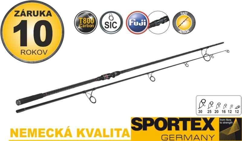 Kaprové pruty SPORTEX Revolt Carp Stalker 2-díl 300cm 2,75lb