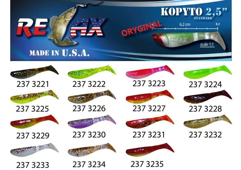 RELAX kopyto RK 2,5 (6,2cm) cena 1ks/bal10ks 3223