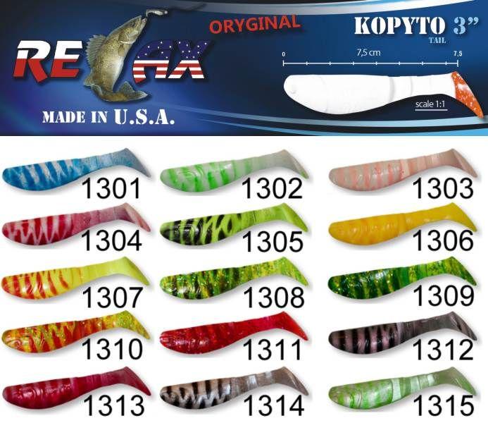 RELAX kopyto RK3-7,5cm - přívlačová nástraha 1313