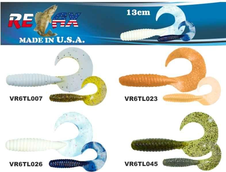 RELAX twister 6 (13cm) cena 1ks/bal5ks 4403
