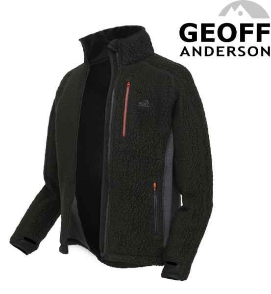 Thermal 3 jacket Geoff Anderson - Tmavě zelený vel.XL