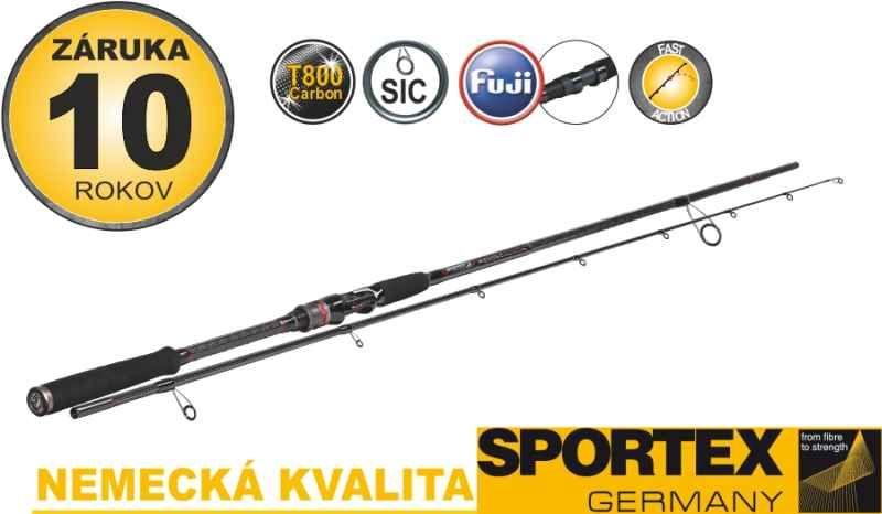 Přívlačové pruty SPORTEX Revolt Spin 2-díl 240cm 60g