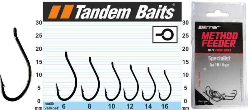 Háček - Matt Finish Method Feeder Hook Specialist 10ks č.10