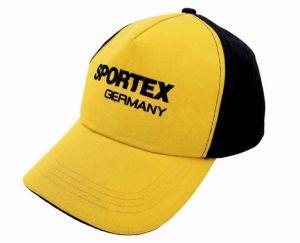 Kšiltovka SPORTEX s logem žluto - černá 2020
