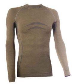 Pánské triko SEAM WOOL s dlouhým rukávem XL/XXL