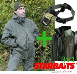Starbaits bunda 3 in 1 XXXXL