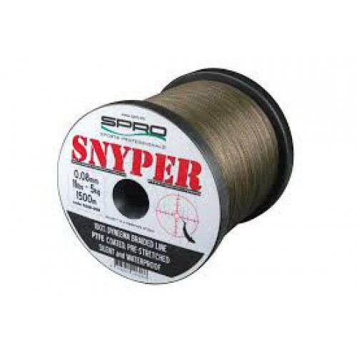 Pletená šňůra Spro Snyper zelená 0,30mm 21kg