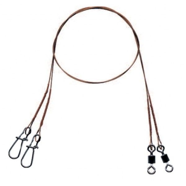 Mistrall ocelové lanko pro lov dravců 7 x 7 varianta: 35 cm/16 kg, 2ks/bal