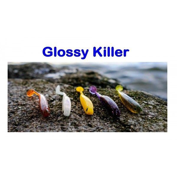 Glossy Killer, 75mm, 3,0g Varianta: Olive Sharpfishes
