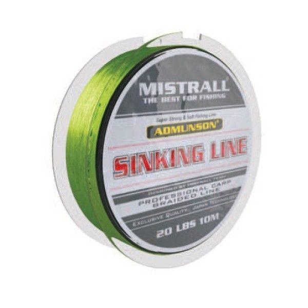 Mistrall pletená šňůra Admunson Sinking Line Nosnost 20lb