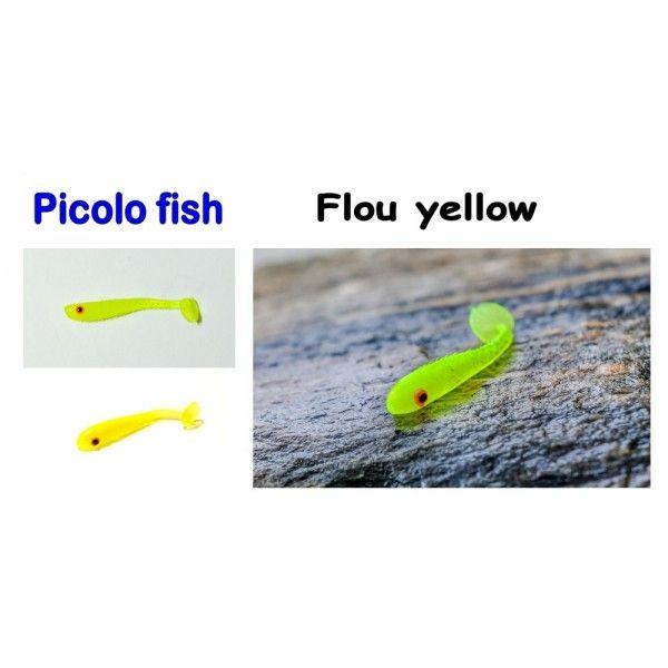 Picolo Fish, 38mm, 0,4g Varianta: Old pink Sharpfishes