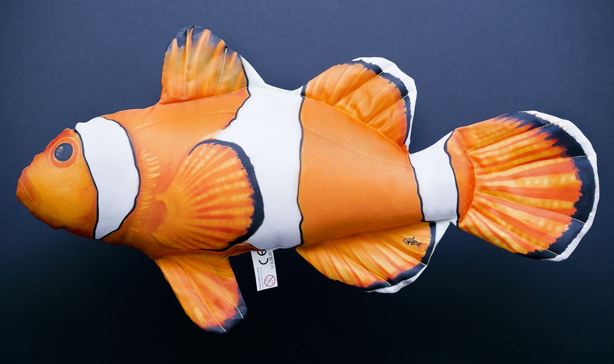 Polštář Nemo (Klaun očkatý) 54cm Gaby