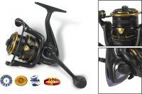 Rybářský naviják s přední brzdou - Black Magic FD420